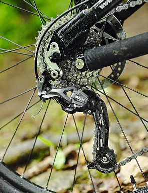The SLX rear mech is a more than able part of the package