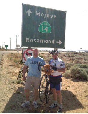 Crossing the Mojave Desert