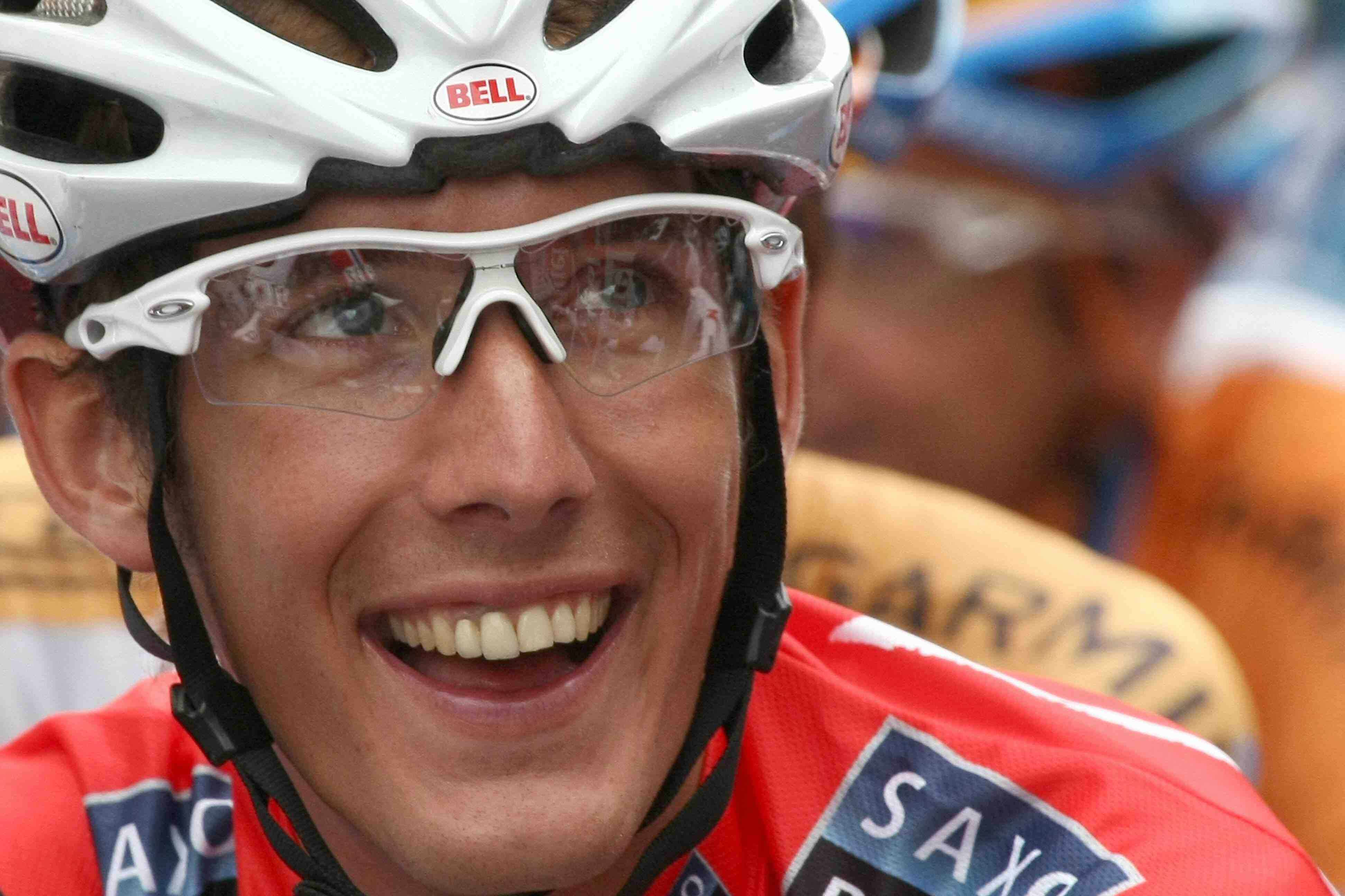 Saxo Bank climber Andy Schleck is eager for some high-altitude leg stretching.