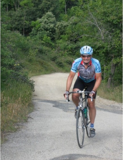 NorCal neighbor and Procycling contributor Bruce Hildenbrand rides dirt roads with Crawford on two continents.