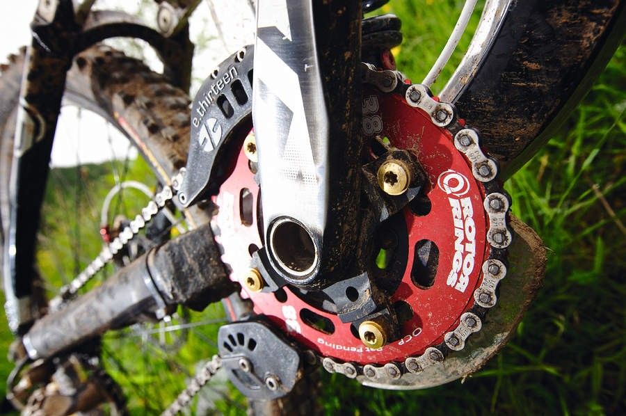 Rotor Q-ring Downhill 38t Chainring