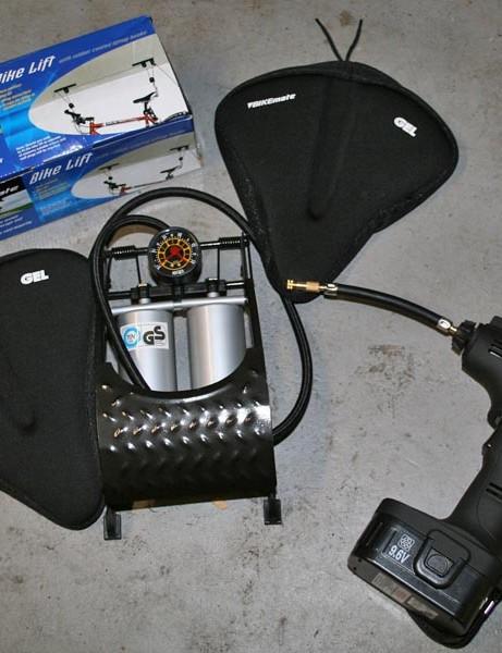 Budget bike gear on sale at Aldi