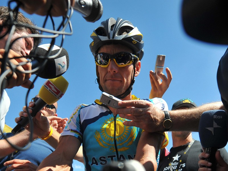 Lance Armstrong says that his Astana team has not been given any leniency vis a vis doping controls