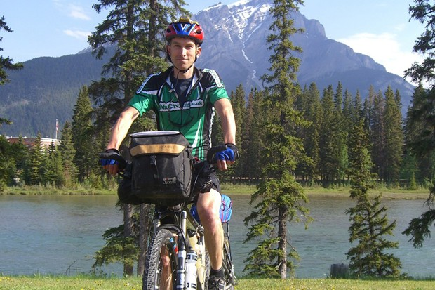 Paul at the start of the Tour Divide