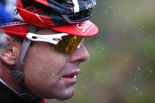 Two-time Tour runner-up Cadel Evans.