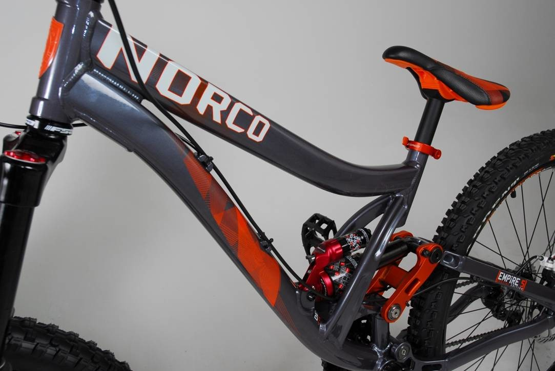 The 2010 Norco Empire.
