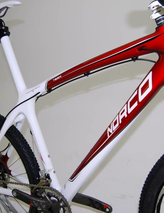The 2010 Norco carbon hardtail.