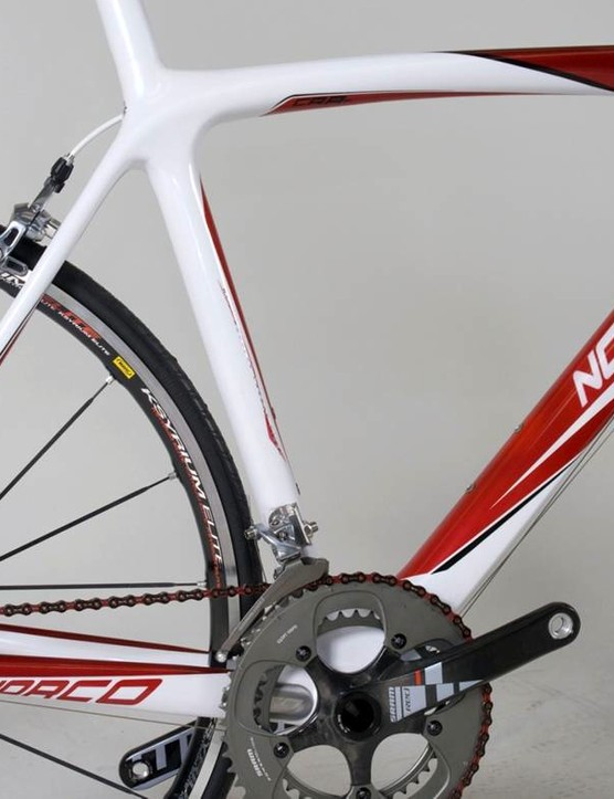 The 2010 Norco carbon road.