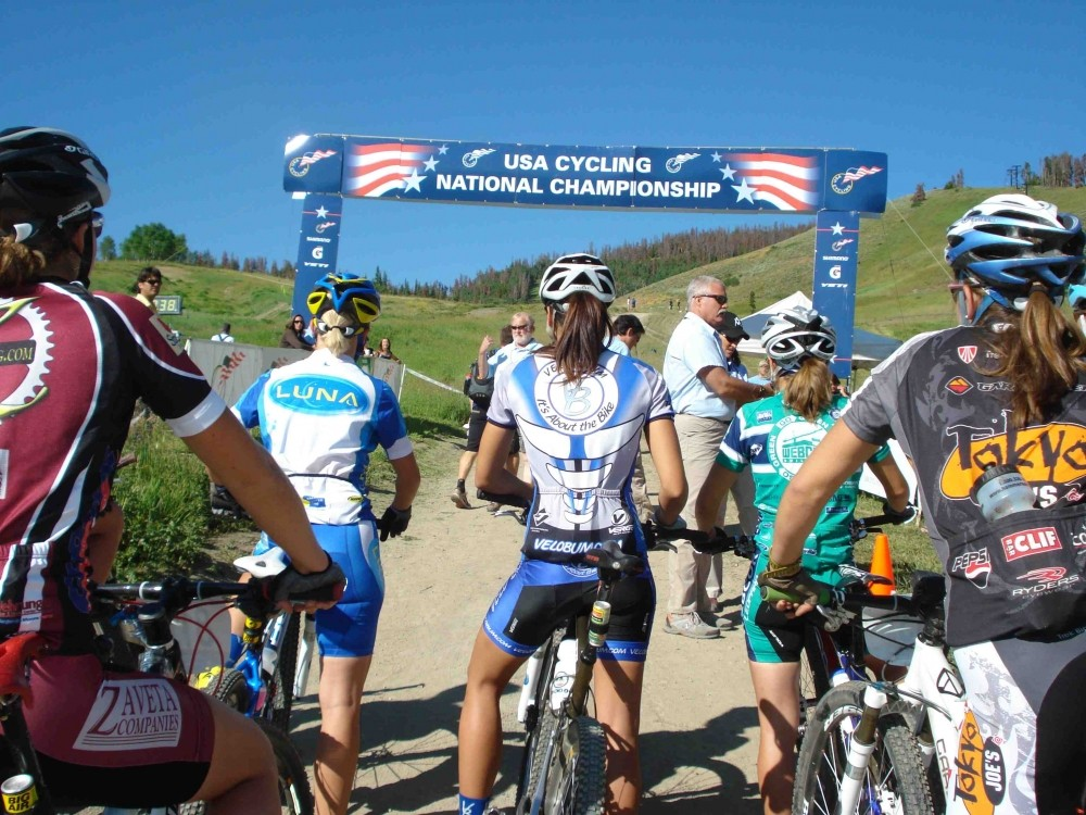 The U23 women take to the line to kick-off this year's USA Cycling Mountain Bike National Championships.