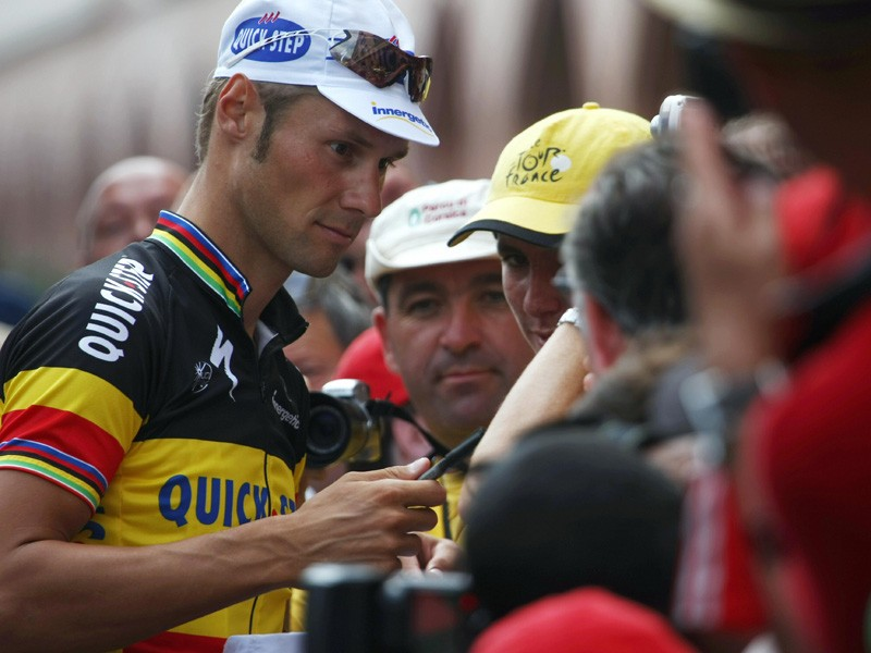 Tom Boonen pulled out of the Tour after two weeks of anonymity
