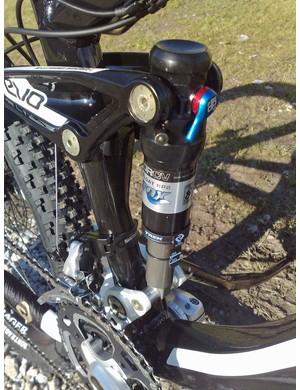 Trek Remedy's DRCV shock, co-developed with Fox Racing Shox