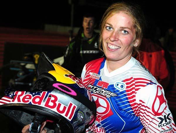 Jill Kintner (Red Bull/Intense) won the women's 4X
