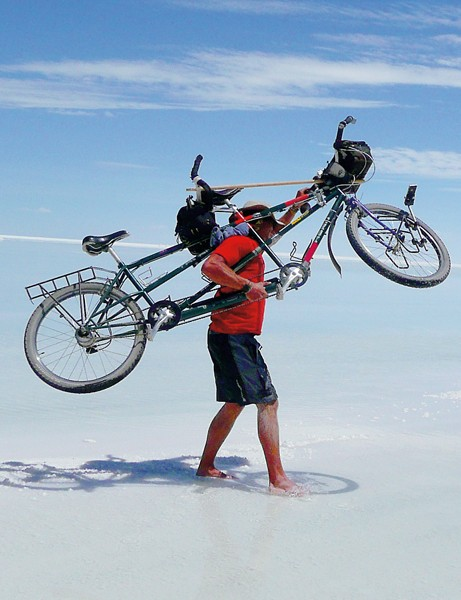A beach excursion in Bolivia demands a reversal of roles