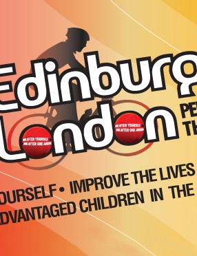 Sports charity Right to Play has teamed up with Mark Cavendish and Team Columbia to stage their first ever Edinburgh to London cycle event.