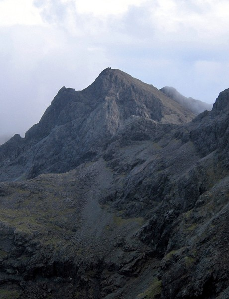 Danny hopes to ride the Inaccesible Pinnacle on the Isle of Skye