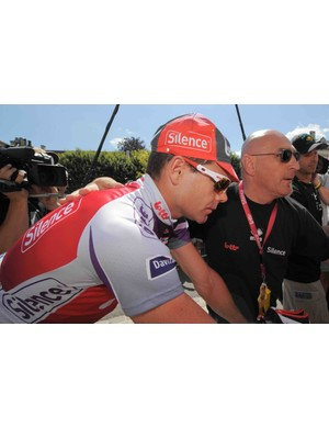 Cadel Evans is not having the Tour he expected in 2009.