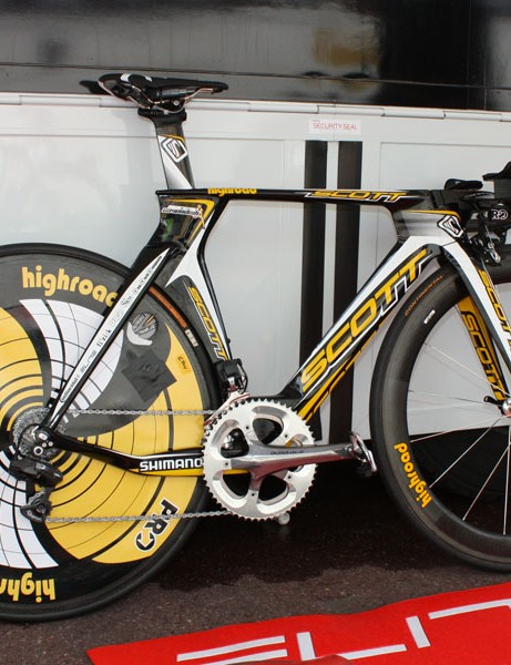Columbia-High Road has made the switch from their previous 'TechDev' bikes to Scott's new Plasma 3.