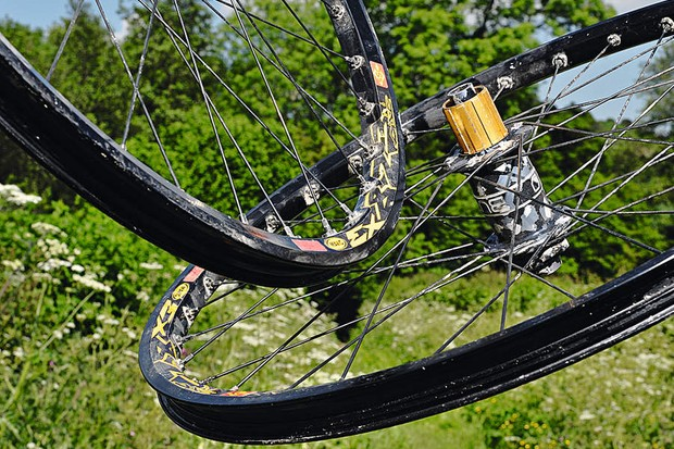 Mavic EX823 rims/Burgtec hubs Wheelset