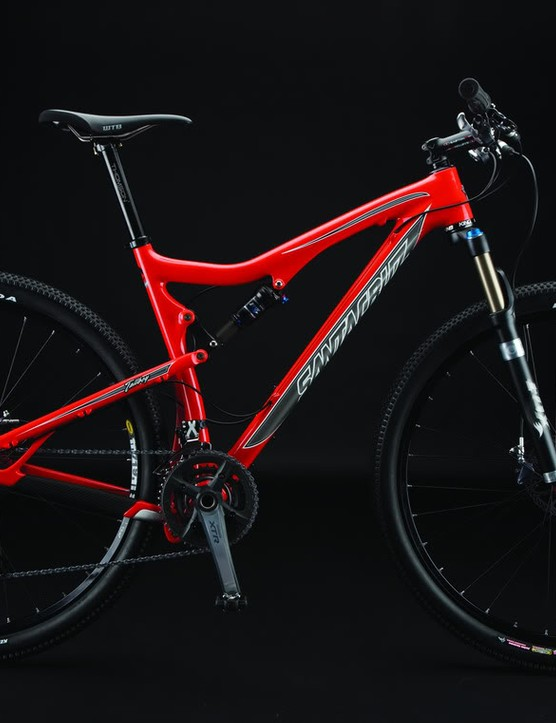 The 2010 Santa Cruz Tallboy full suspension 29er.