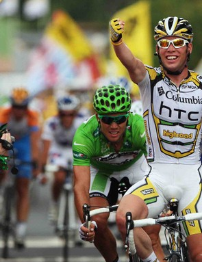 Mark Cavendish has gotten the best of Thor Hushovd overall, but will the green jersey make it onto Cav's back come Paris?