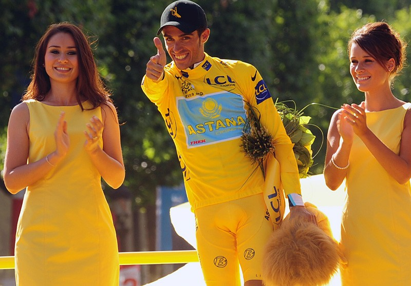 Alberto Contador was crowned the winner of the 2009 Tour de France