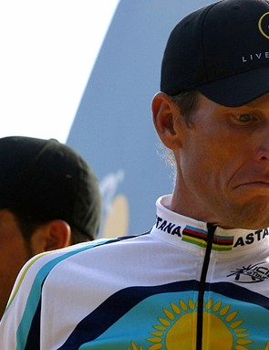Lance Armstrong will not be riding with Alberto Contador next year