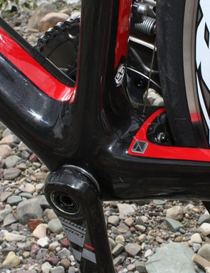 Gary Fisher has chosen the BB90 option for its integrated bottom bracket, preferring the extra width it affords to the down tube, seat tube and chain stays relative to BB30.