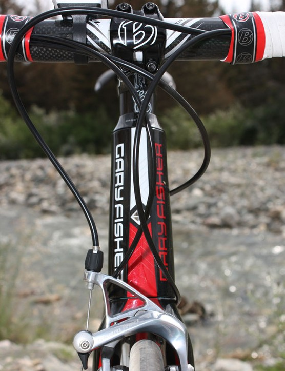 the Gary Fisher Cronus borrows the E2 tapered head tube and steerer design from its Trek Madone cousin.