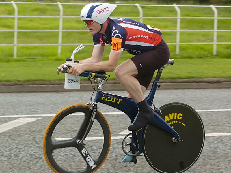 John Warnock, winner of the UK national 24 hr championship