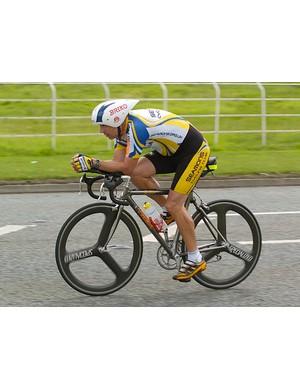 Robin Haigh, third overall