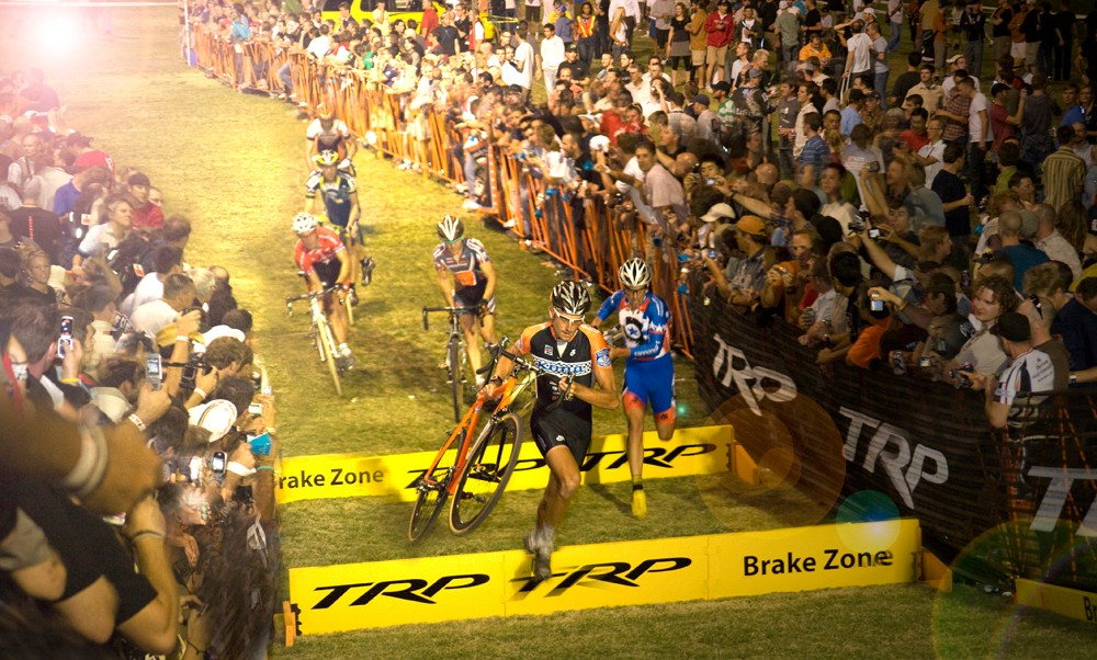 The CrossVegas action was fast and furious in 2008.