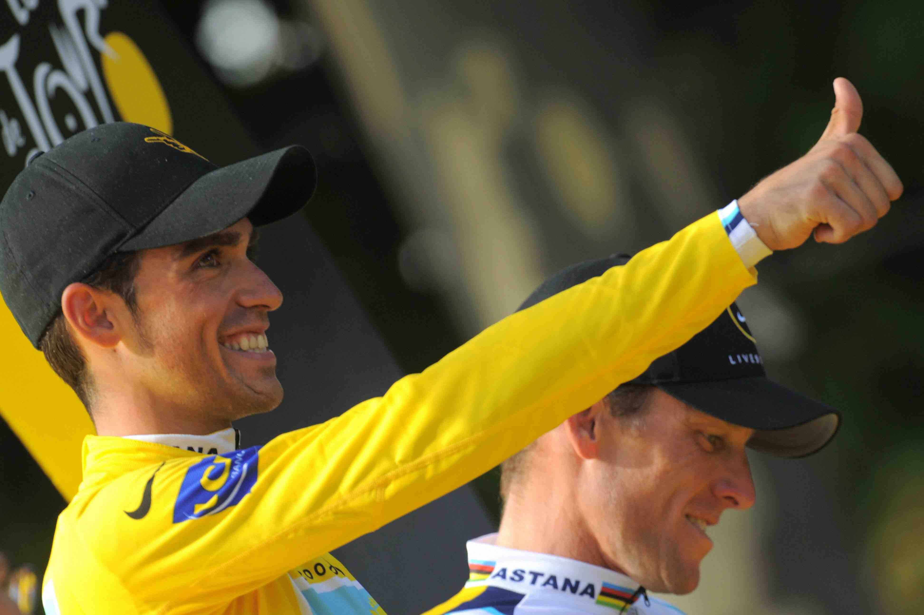 The 2009 Tour was heated up tremendously by the friction created between winner Alberto Contador and 3rd place finisher Lance Armstrong.