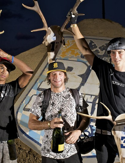 BMX top three at Big In Bavaria 2009