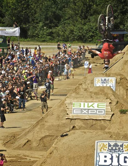 Sam Pilgrim – flip tuck no-hand at Big In Bavaria 2009