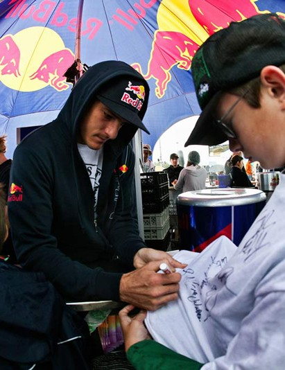 Signing at Big In Bavaria 2009