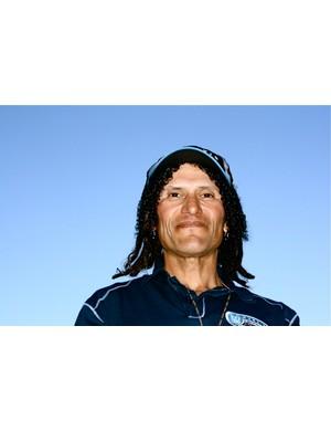 David 'Tinker' Juarez, MonaVie-Cannondale endurance racer, in Park City, Utah 2009