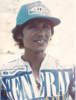 A young Juarez, racing for General in the mid 1980s