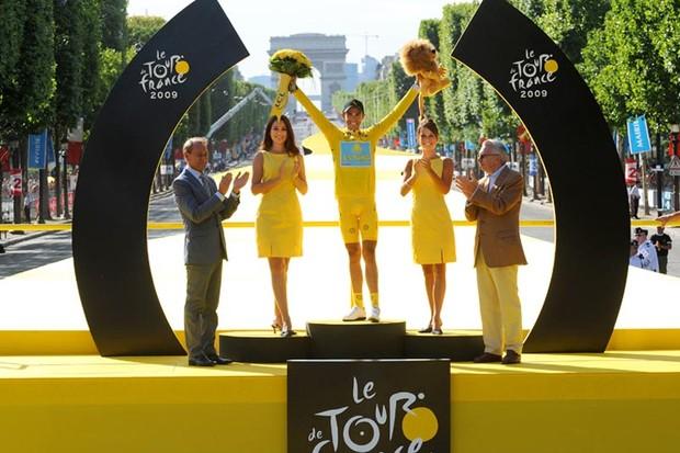 2009 Tour de France winner Alberto Contador