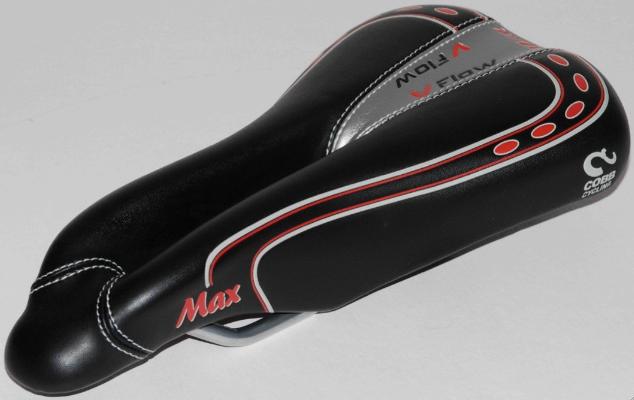 The new Cobb V-Flow Max saddle.