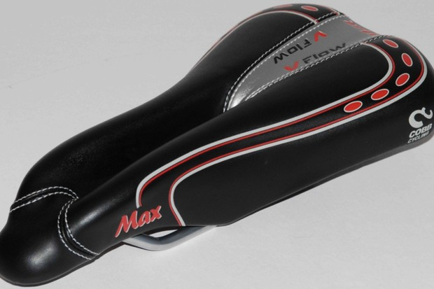 The new Cobb V-Flow Max saddle.