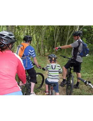 Free mountain bike courses at the Croft Wood Centre, Swindon