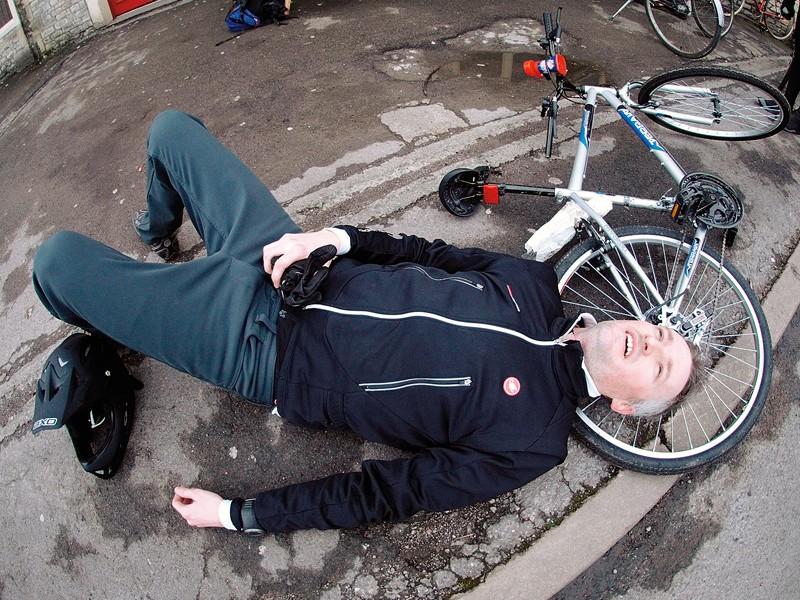 Rob Spedding's £40 Tesco bike experience