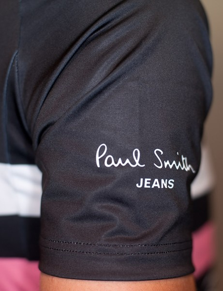 The team jersey now sports a Paul Smith Jeans logo