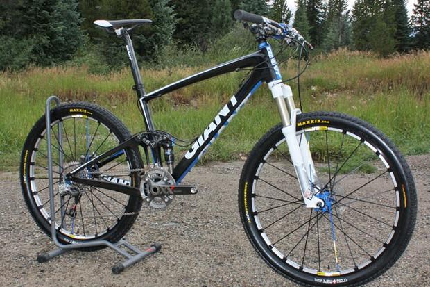 Adam Craig's race bike of choice is Giant's new Anthem Advanced SL0