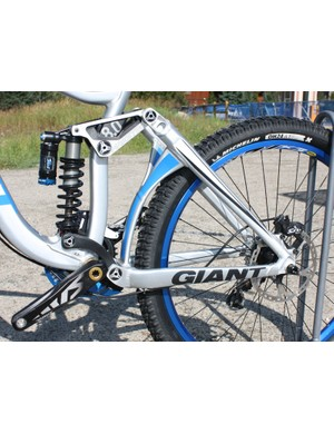 Giant are able to adapt their Maestro dual-link suspension design across a broad spectrum of travel lengths and applications
