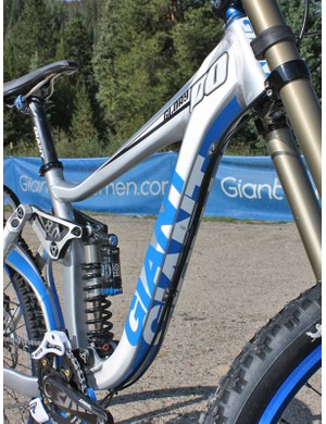 Hydroforming plays a key role in Giant's new 2010 line with even more aggressive shapes than before