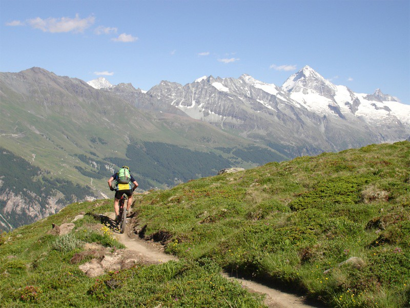 A British man has fallen to his death in a mountain bike accident in the French Alps