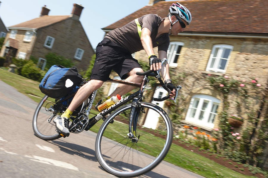 Versatile editor supreme Rob  on the supremely versatile  Specialized Tricross