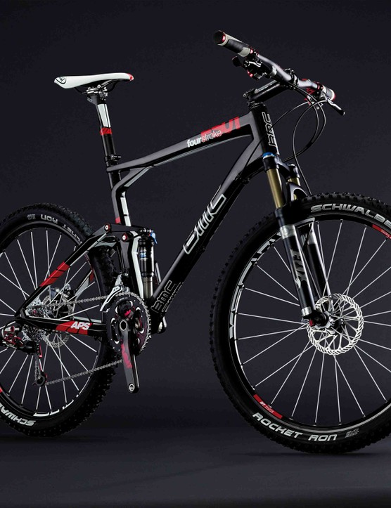 BMC will debut a new Fourstroke FS01 full-suspension race bike for 2010.