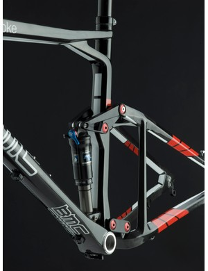 The new FS01 will continue to use BMC's APS dual-link suspension design with 100mm of rear wheel travel.
